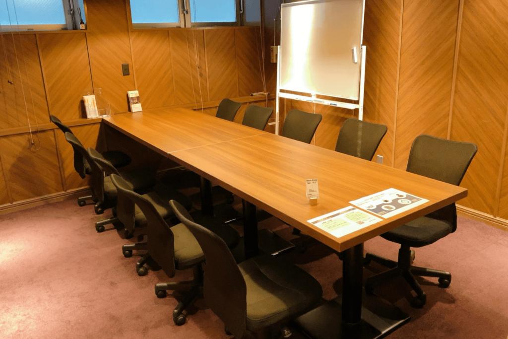 Basis Point五反田店の有料利用制の会議室
