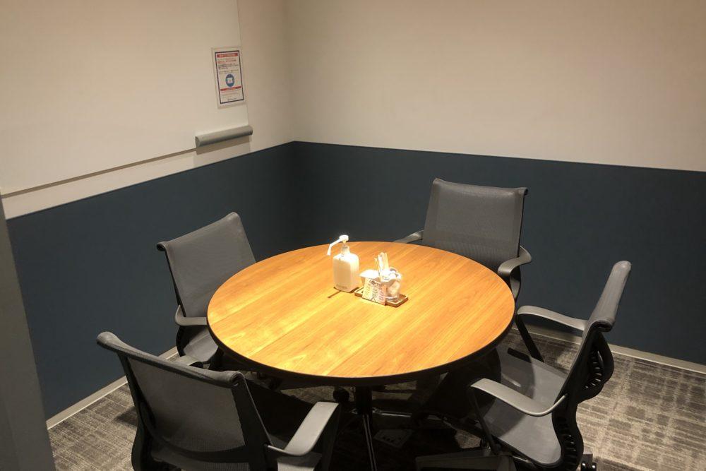 ビジネスエアポート品川の4名までの貸し会議室