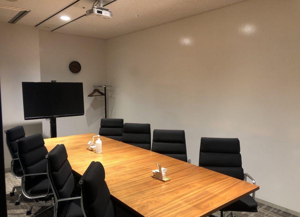 ビジネスエアポート品川の8名までの貸し会議室