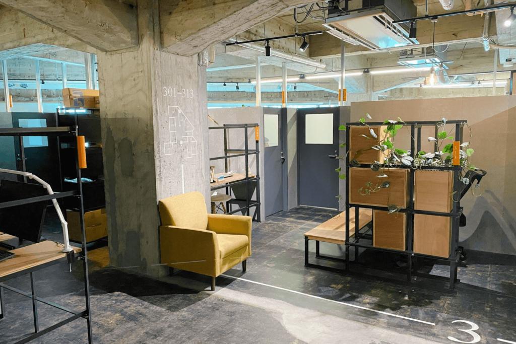 G Innovation Hub YOKOHAMAのセミオープンブース