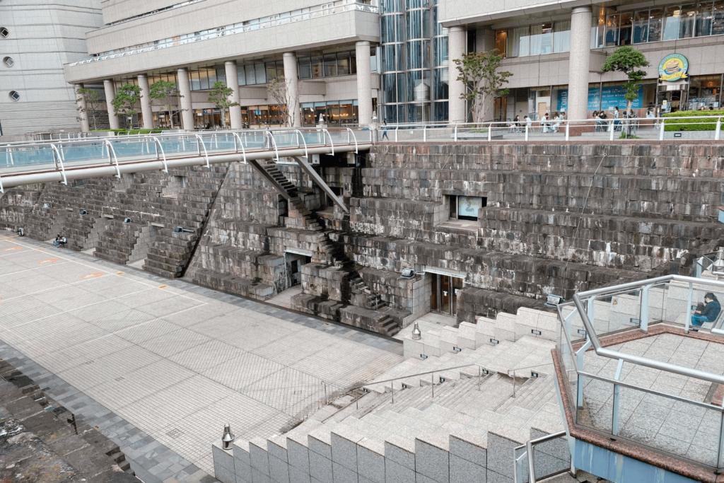 BUKATSUDOはみなとみらいの造船所があった場所の近くにある