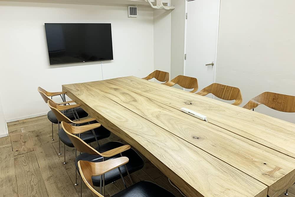 HAPON 新宿の会議室