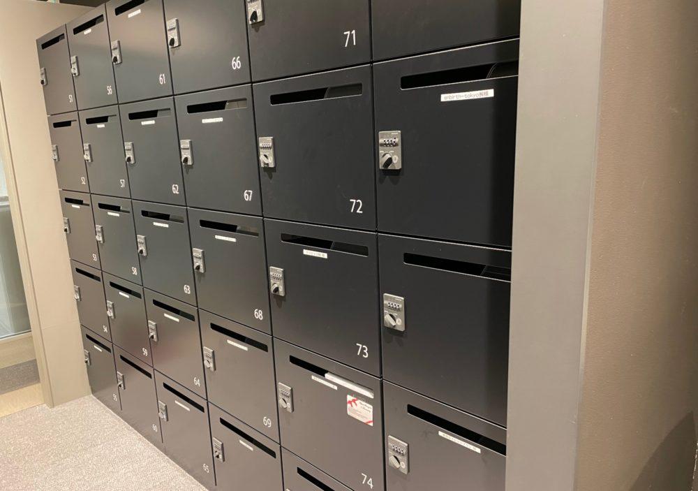 LIB PORT品川のメールボックス
