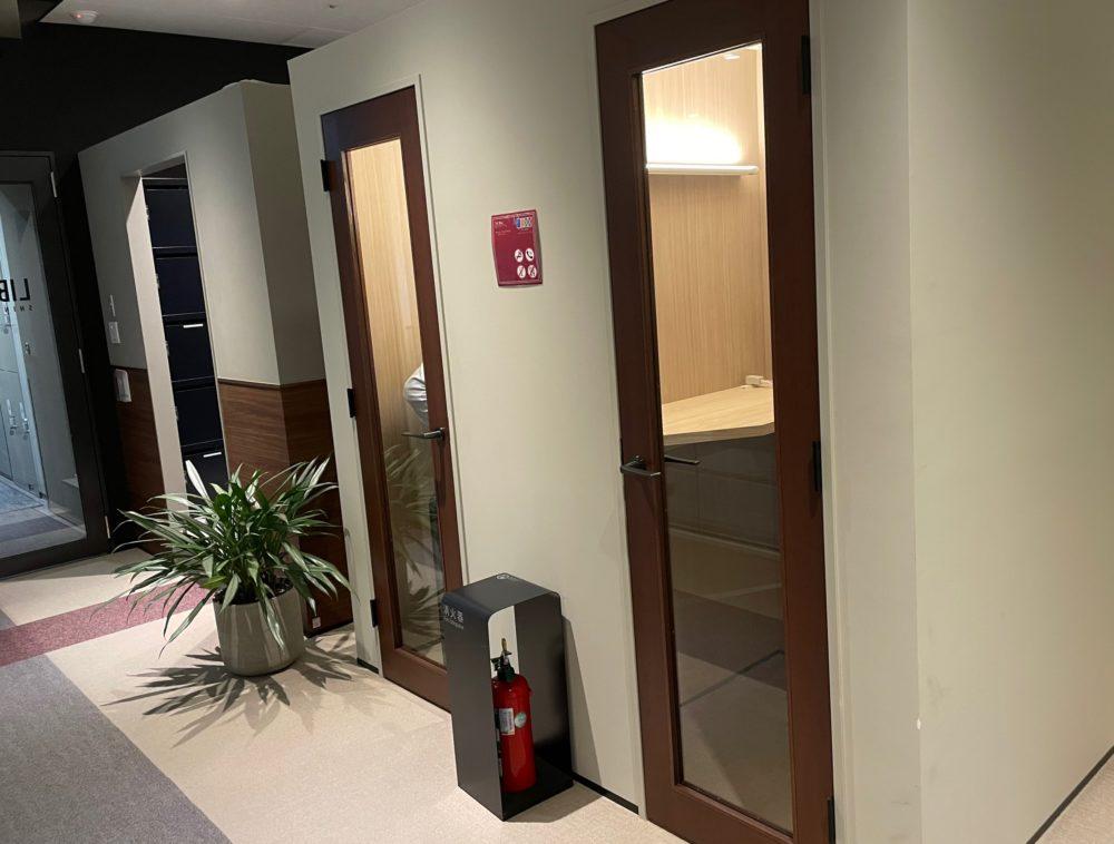 LIB PORT品川の通話やWEB会議はTEL BOXを利用