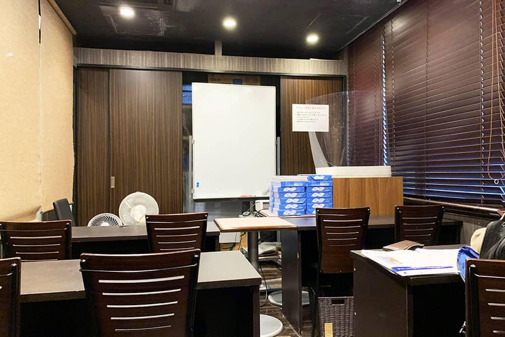 勉強できるカフェ ガクトのセミナールーム
