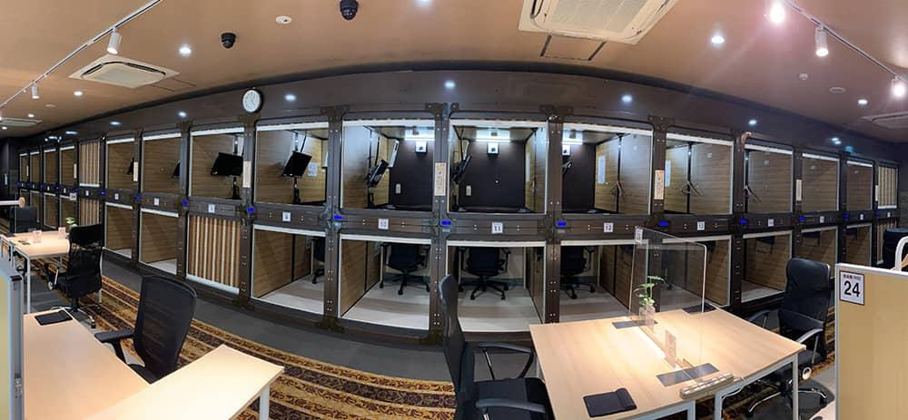 パセラのコワーク新宿南口駅前店の個室スペース