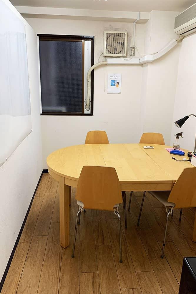 GARAGE WASEDAの会議室