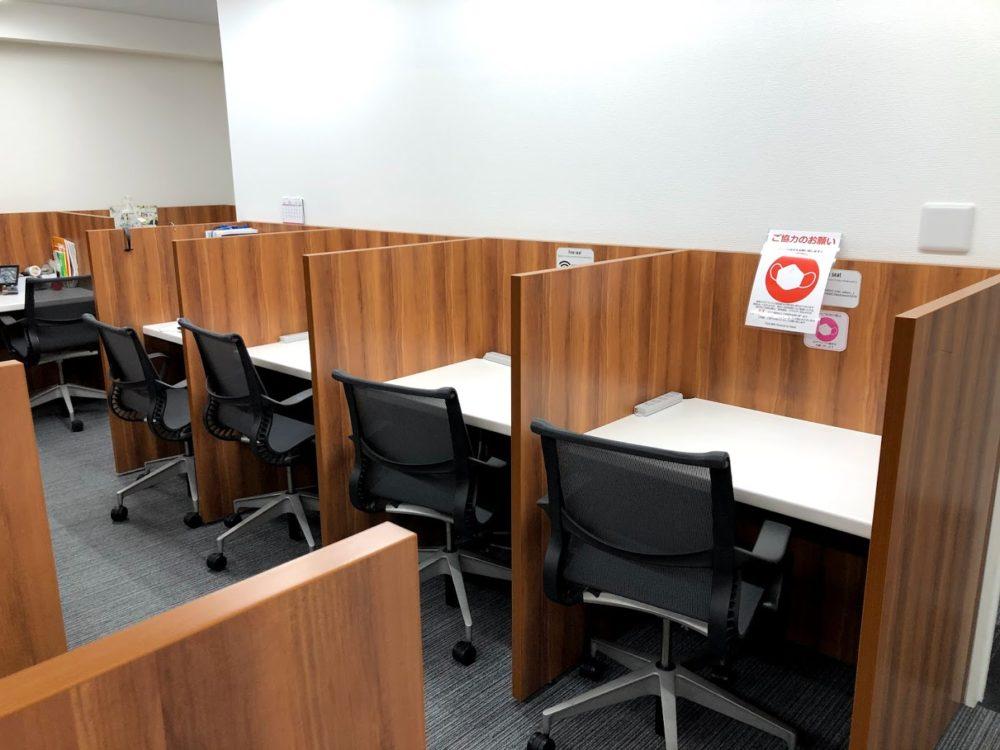 TRIEL東京は自習室スタイルのコワーキングスペース